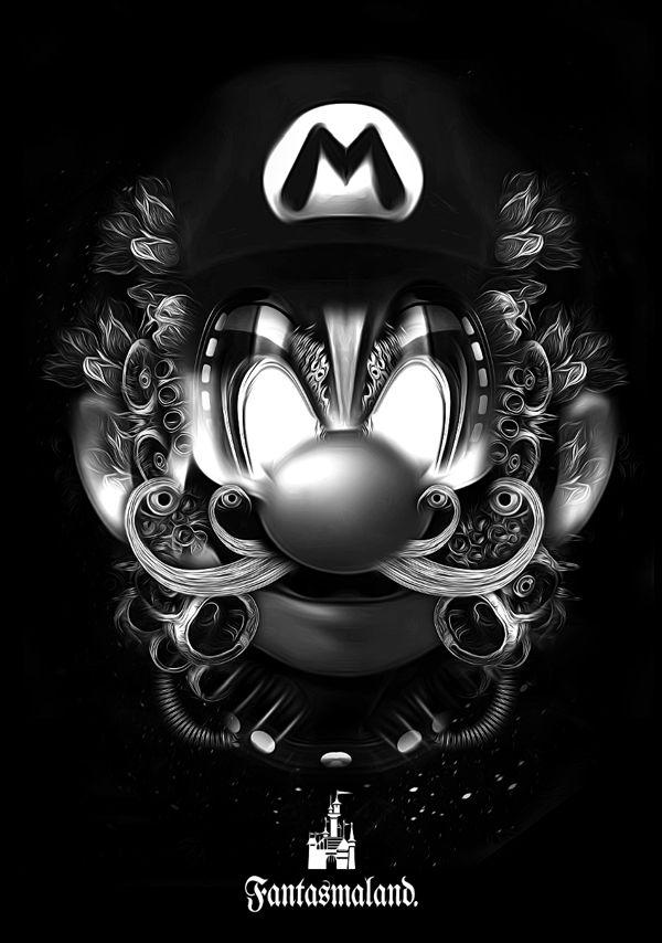 Nicolas Obery - Fantasmagorik Mario