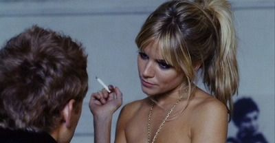 youthykisses:   Sienna miller and Jude law in Alfie 2004