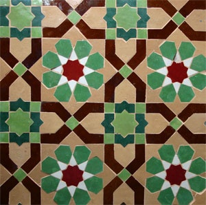 Gorgeous traditional zellij field tile - Moroccan       Things Will Fall Into Place