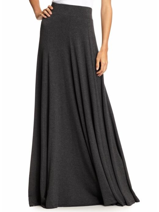 basic maxi: Maxi Dresses, Beautiful Skirts, Long Black Skirts, Maxis, Long Skirts, Gray Maxi Skirts, Pretty Skirts, Basic Beautiful, Basic Maxi