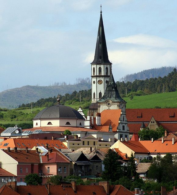 The medieval city of Levoca, a Unesco World Heritage site in eastern Slovakia.