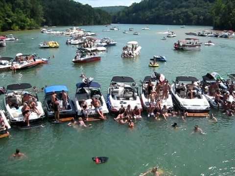 Lake Cumberland Boat Party Every Weekend