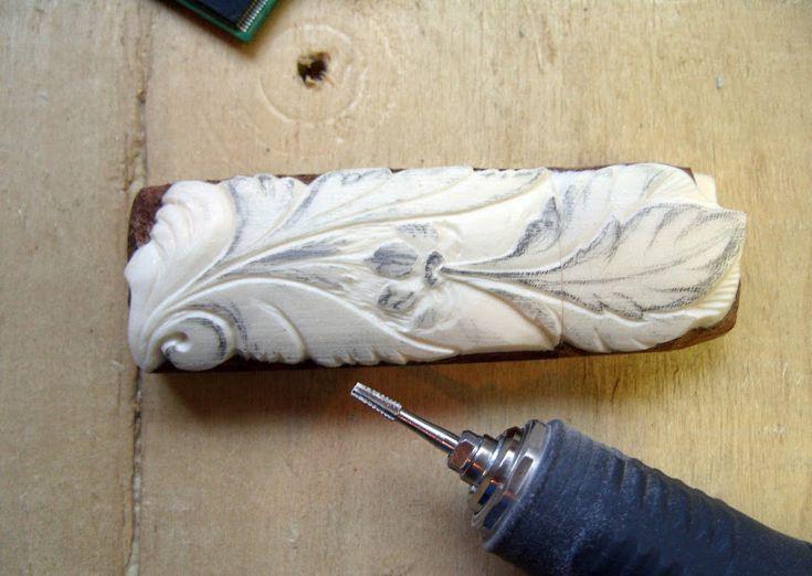 Мастер-класс по изготовлению резной флешки из кости и дерева - Ярмарка Мастеров - ручная работа, handmade