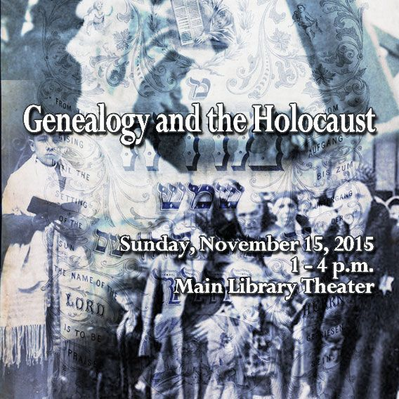 "A special program on ""Genealogy and the Holocaust"" will be presented on Sunday, November 15 from 1 to 4pm at the Allen County Public Library, Main Branch in the Theater. Learn about resources relevant to the Holocaust, including the recently opened International Tracing Service Archives and what's available locally."