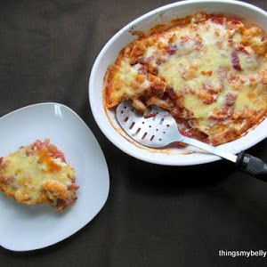... , Extra Large Eggs, Shredded Cheddar Cheese, Grated Parmesan Cheese