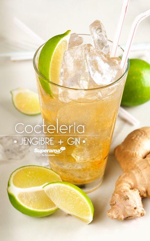 La especia es el aromatizante ideal de la ginebra; aporta notas cítricas, frescas y ligeramente picantes. Gin Tonic + Jengibre.   Prepárala así: Gin, Agua Tónica, 4 gotas de limón,  dash de piel de limón y jengibre rallado. #Hielo