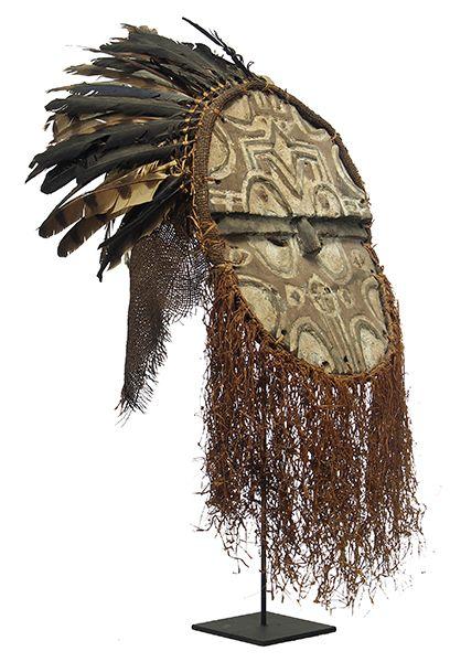 Bateke/Tsaye Mask 18, Congo