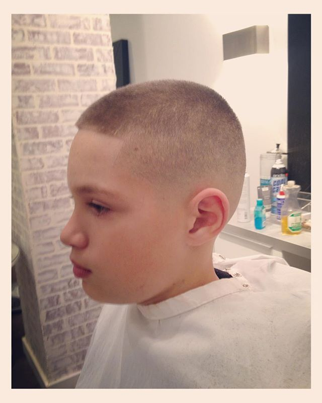 Best Hairstyles Boys Images On Pinterest Children Haircuts - Haircut boy buzz