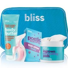blissworld.co.uk - bliss 'hair' today gone tomorrow set - your essential hair removal kit has arrived £50