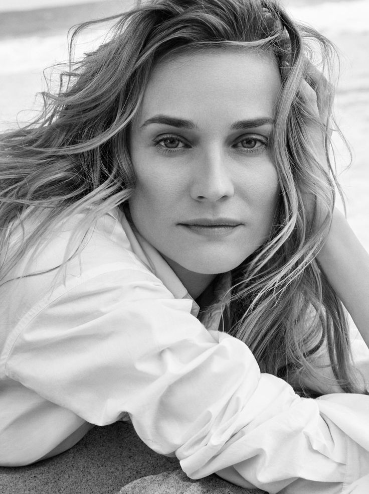Diane Kruger, photographed by Victor Demarchelier for Town & Country, Aug 2016