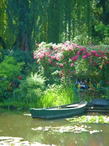 Monet's Garden in Giverny, France. Maybe sign up for a painting workshop....