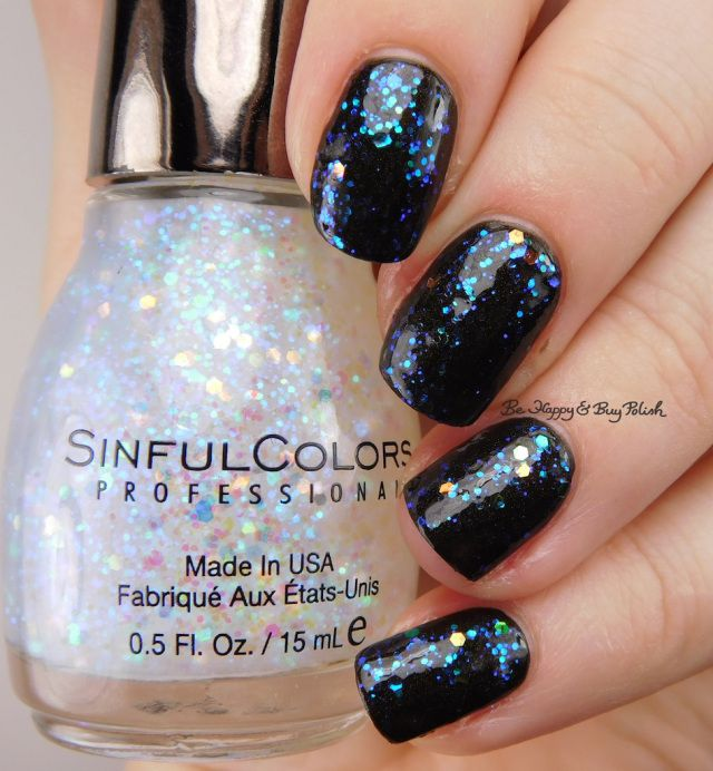 Sinful Colors Kandee Johnson Digital Dreams over Licorice | Be Happy And Buy Polish https://behappyandbuypolish.com/2017/03/02/sinful-colors-kandee-johnson-vintage-anime-nail-polish-collection-swatches-review/