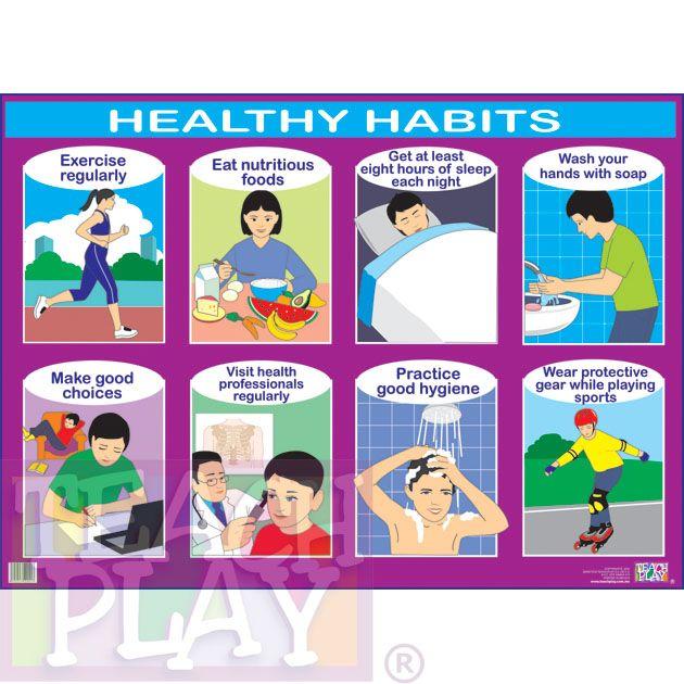 Good habits keeping things clean 5