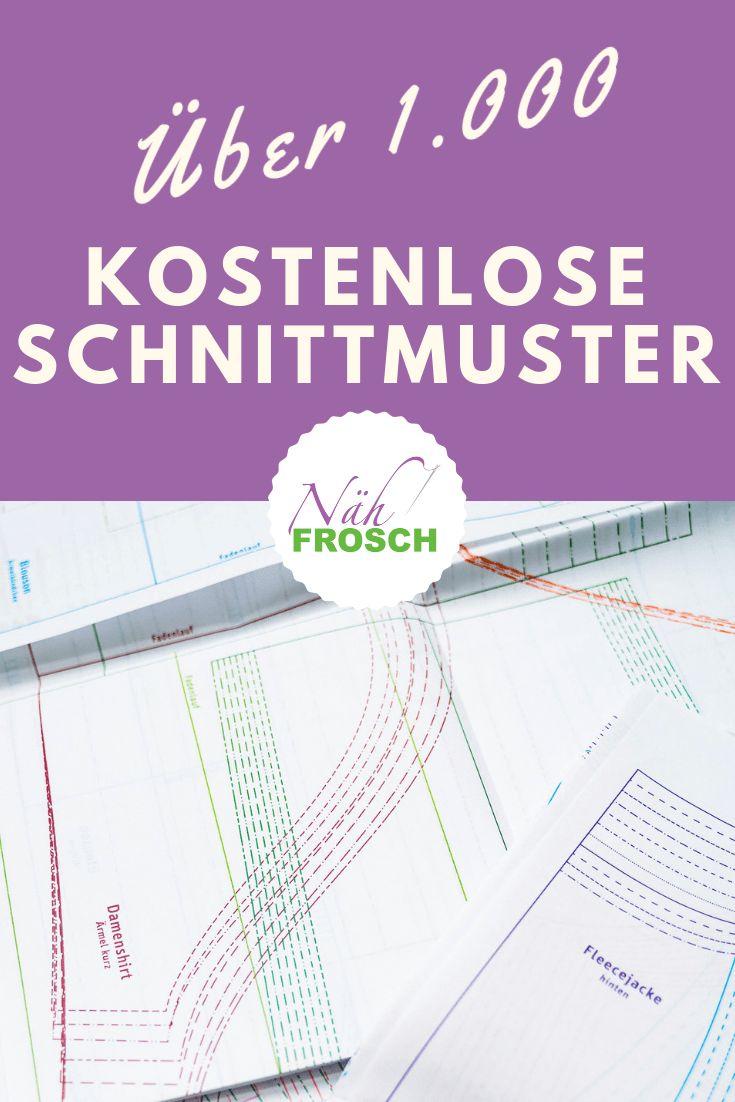 Über 1.000 Freebooks, kostenlose Schnittmuster und Nähanleitungen – Katharina Palubicki
