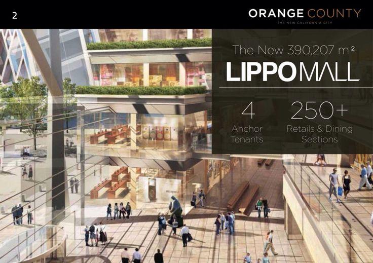 Lippo Mal Concept at Orange County  www.lippoproperty.com