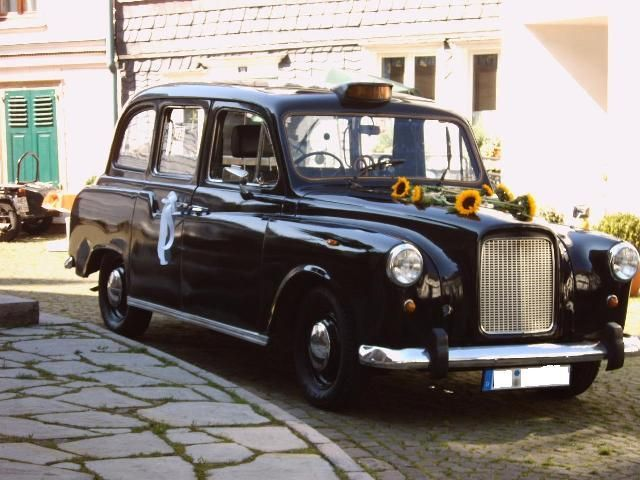 Londontaxi - Das Kultobjekt f. Promotion und Hochzeitsfotos
