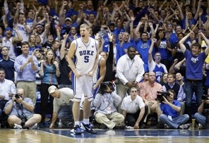 Duke beats NC State in an amazing comeback. Go Devils!