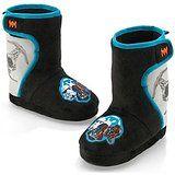 Disney Store Little Boys Star Wars Darth Vader Plush Boot Slippers 9/10 Black