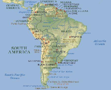 Sur America y su luego