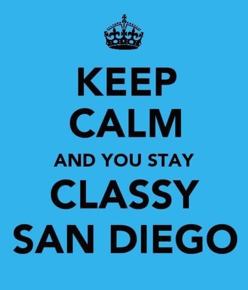 Stay Classy San Diego!
