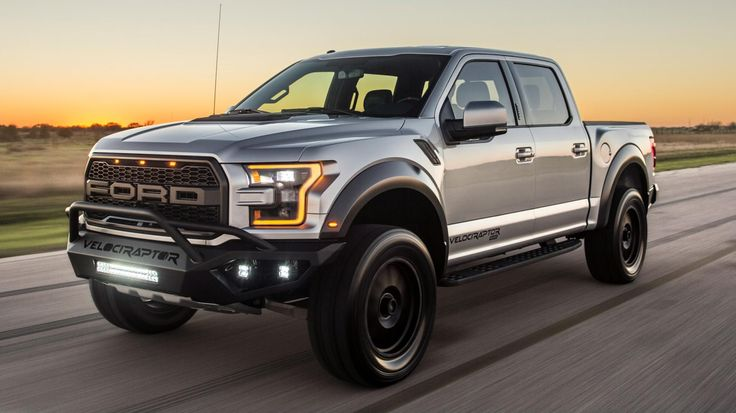 This is the new Hennessey VelociRaptor  700bhp Texan tuned Ford F150 Raptor is here. Is it the only car you'll ever need? Rowan Horncastle 28 Feb 2017