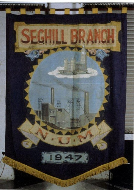 Seghill Colliery banner