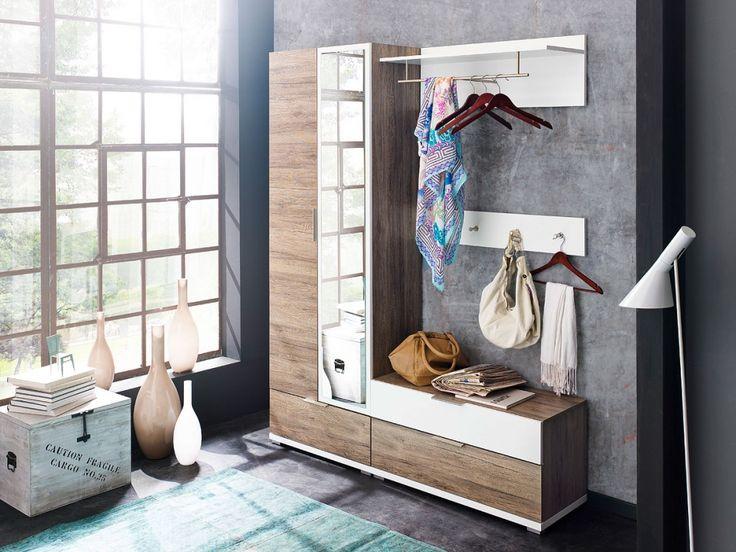 82 best diele und flur images on pinterest buy now oak for Diele garderobe