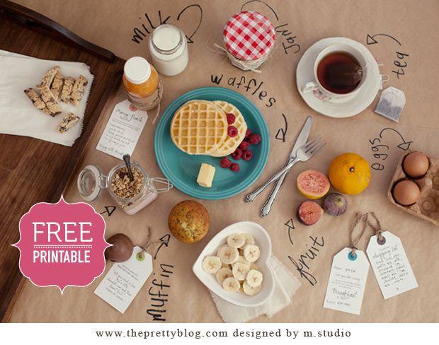 breakfast in bed .... want!