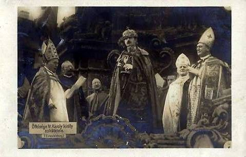 Budapest 1916 Krönung Kaiser Karl I. zum König von Ungarn, Coronation of Emperor Karl to King of Hungary by Miss Mertens, via Flickr