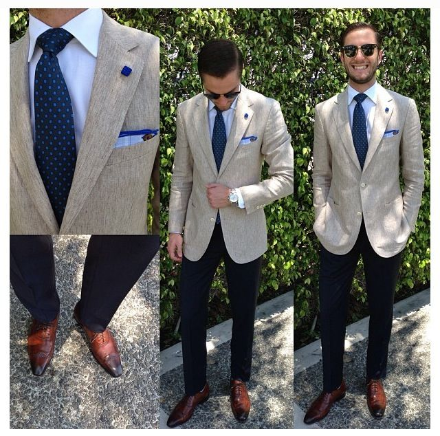 Summer Wedding Outfit Ideas: Men's Fashion Blazer