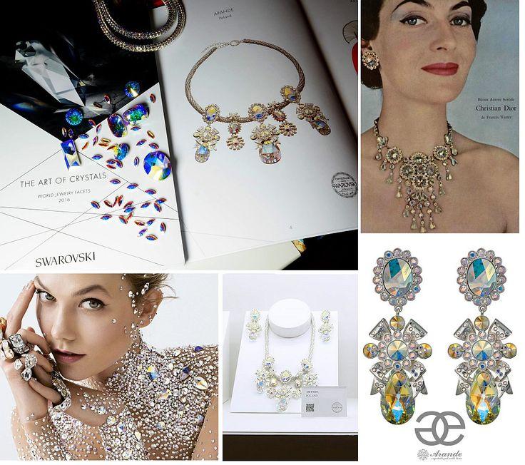 Biżuteria Arande na międzynarodowej wystawie Swarovskiego. Podczas World Jewelry Facets 2016 pokazano prace takich znanych projektantów i domów mody, jak Jean Paul Gaultier, Roberto Cavalli, Vivienne Westwood. Nasza kolekcja powstała na 60. rocznicę stworzenia efektu Aurora Borealis, który nadaje kryształom spektakularny blask. Wkrótce o tym na naszym blogu. Już teraz przeczytajcie historię kryształów Swarovskiego: http://www.arande.pl/blog