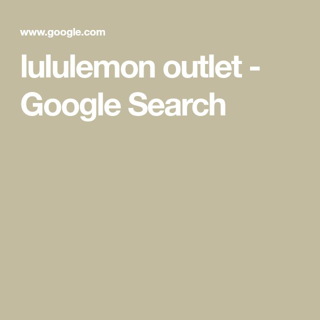 lululemon outlet - Google Search