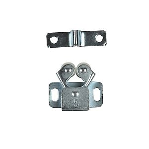 Leroy Merlin - Cricchetto a due rulli 30 x 30 x 15 mm Accessori per mobili e cassetti  armadio corridoio - 2 pezzi - 1,00 euro