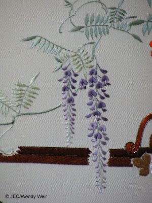 Japanese Embroidery-wisteria?