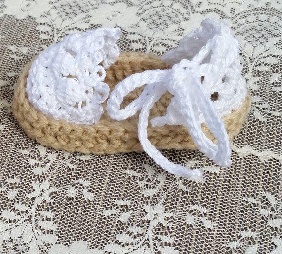 Bebé niña ganchillo alpargatas zapatos bebé niña sandalias