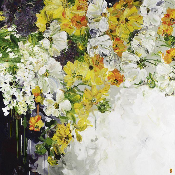 Bobbie Burgers - Feminine Mystique | garden paintings | Pinterest ...
