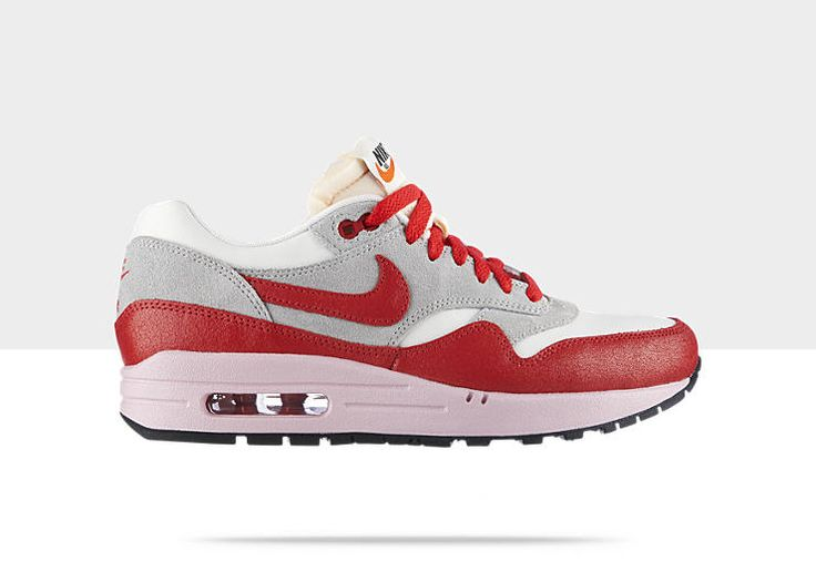 nike air max 1 vintage suede leather grey white