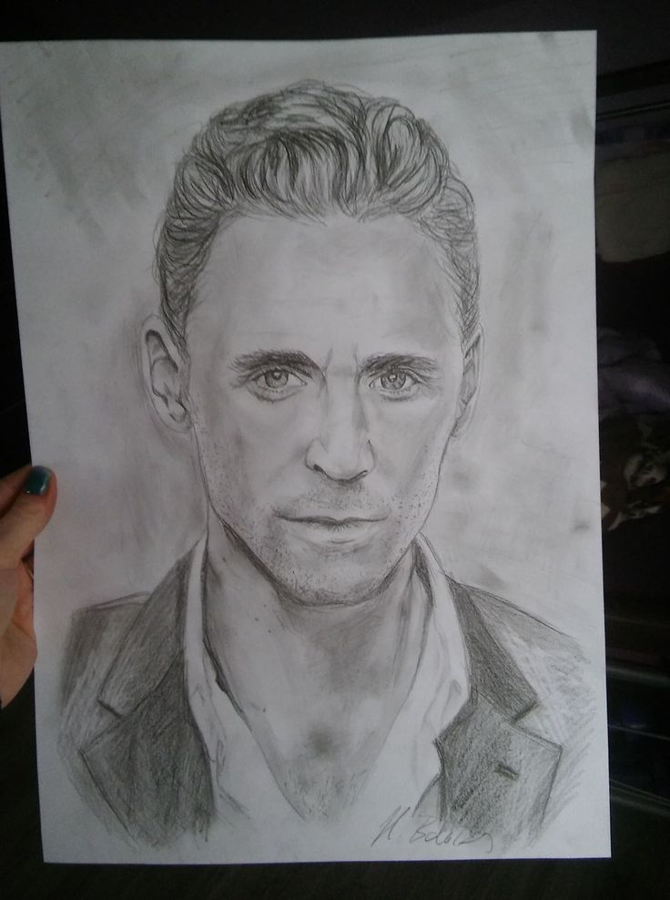 drawing art Tom Hiddleston