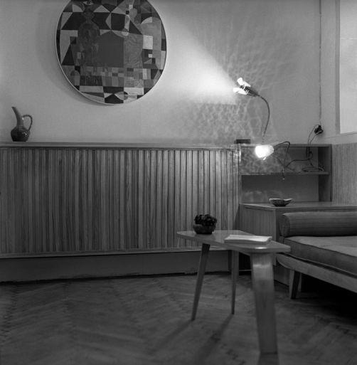Ogólnopolska Wystawa Architektury Wnętrz, Zachęta, 1957.