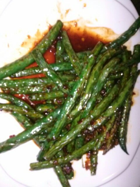Spicy String Beans @ PF Chang's