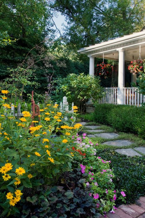 Garden Tour Fifty Shades Of Green: 193 Best Cottage Gardens Images On Pinterest