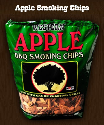 Western BBQ Cooking Wood - Apple Smoker Chips