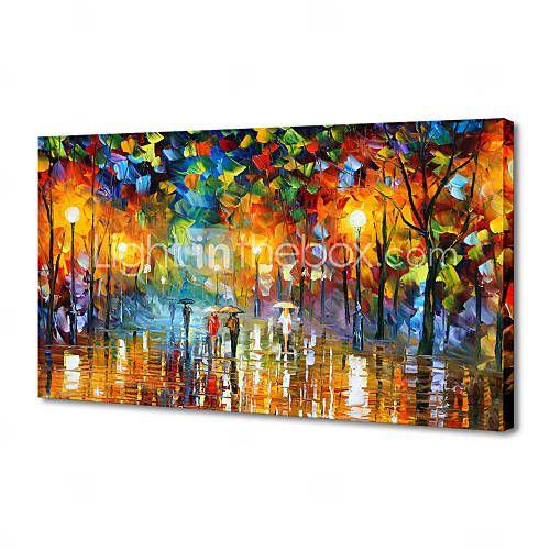HANDMÅLAD LandskapModerna / Traditionellt En panel Kanvas Hang målad oljemålning For Hem-dekoration 1164998 2016 – Kr.374