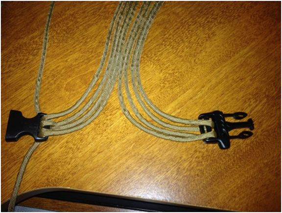 This belt could save your life!  How to make a Paracord Every Day Carry (EDC) belt. by Anthony and Kelly Braun
