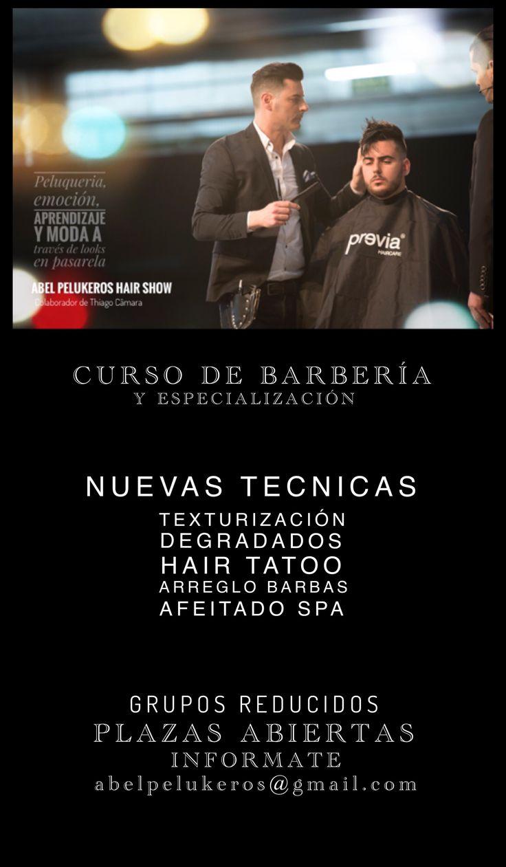 Cursos de barbería en Elche impartidos por Abel Pleguezuelos FINALISTA MEJOR BARBERO 3.0 de ESPAÑA 2016 www.abelpelukeros.com CONTACTA POR EMAIL: abelpelukeros@gmail.com TELF: 966630393 (ALICANTE)