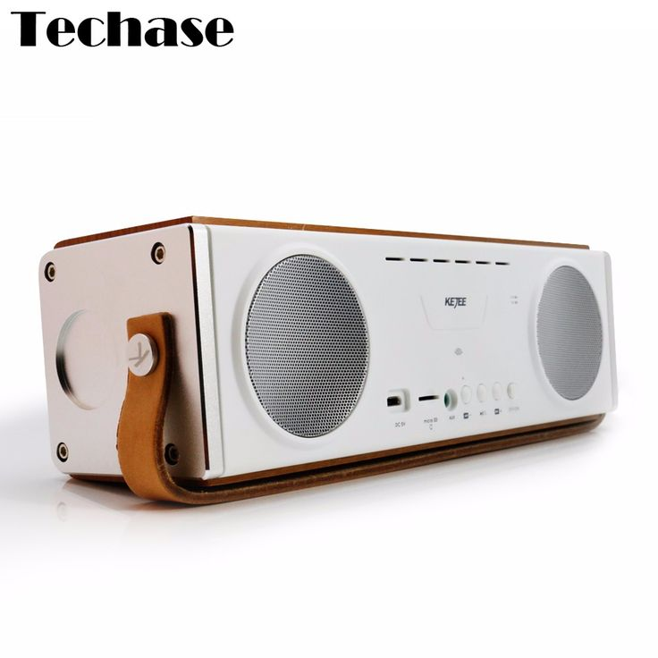 >> Click to Buy << Wooden Bluetooth Wireless Speaker Stereo Soundbar TF Card Altavoces Subwoofer HiFi Computer PC Speakers MP3 Player Music Spotify #Affiliate