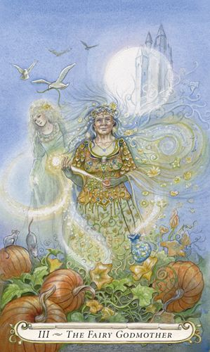 The Fairy Godmother (The Empress) - Fairy Tale Tarot