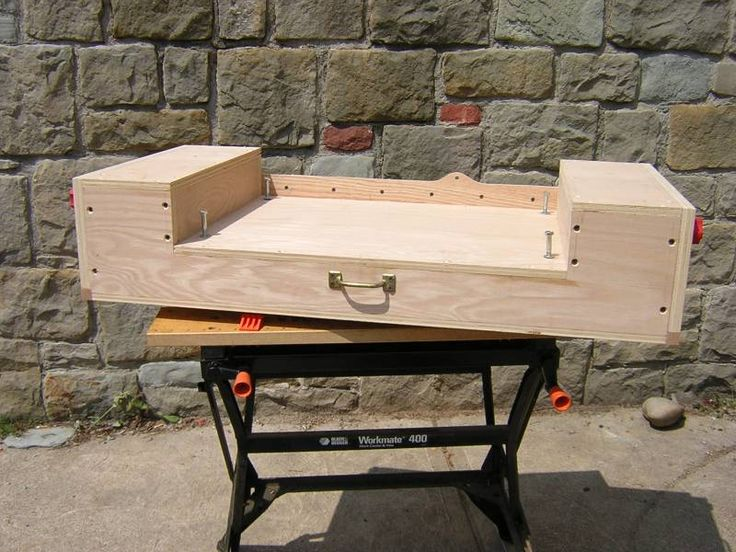 homemade table saw tables   Portfolio of Shop Projects - Chop Saw Stand