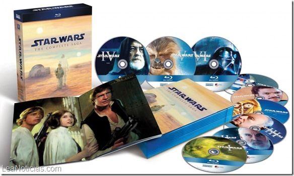 La saga completa de Star Wars, a la venta por primera vez en edición digital - http://www.leanoticias.com/2015/04/13/la-saga-completa-de-star-wars-a-la-venta-por-primera-vez-en-edicion-digital/
