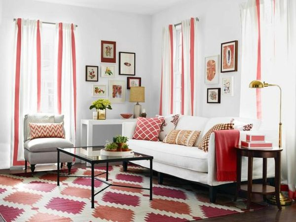 Die besten 25+ Gardinen für kleine fenster Ideen auf Pinterest - scheibengardinen modern wohnzimmer
